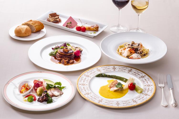 どれも美味しく見た目にも華やかなクオリティの高いお料理