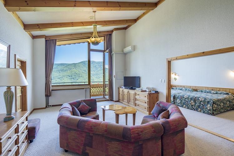 部屋はもちろんラウンジなども居心地がよく、Wi-Fiも完備されている。